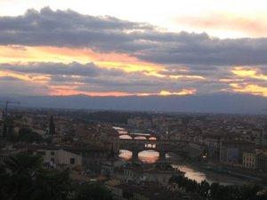 Florentine Sunset 2008