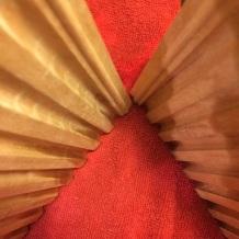 Wood and carpet